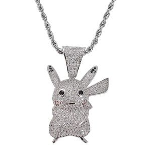 Pikachu Iced out Necklace